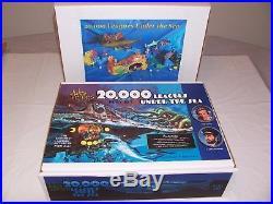 WALT DISNEY'S 20,000 LEAGUES UNDER THE SEA With 15 NAUTILUS SUBMARINE, Play Set