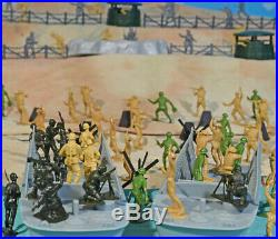 WWII D-Day Playset #1 Hit the Beach 54mm Plastic Toy Soldiers