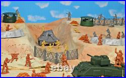 WWII D-Day Playset #2 Breakthriough 54mm Plastic Toy Soldiers
