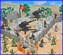 WWII D-Day Playset #3 War From Above 54mm Plastic Toy Soldiers
